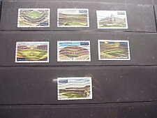 US Used Baseball Legendary Fields 3510//3519 7 Singles w/Clean Backs,NoThins