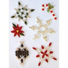 Paper Quilling Kit CHRISTMAS Holiday Designs Scrapbooking Card Making 284