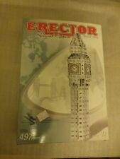 ERECTOR / MECCANO SPECIAL EDITION BIG BEN #0522