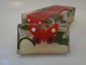 Butterfly LEMON and HONEY   Soap  100-110g