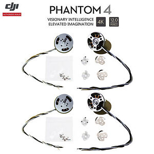 DJI Phantom 4 RC Camera Drone 2312S Motor CW + CCW W/ Propeller Mounting Plates