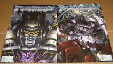 Transformers Megatron Origin #1 A + B Variant Editions 1st Prints
