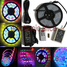 5M 16.4ft RGB 133 Dream color 5050 6803 IC Waterproof LED Strip + Remote + Power
