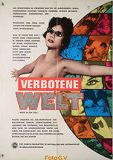 Verbotene Welt Cruel Tales of Japan 1963 Kiyoshi Komori Original-Kinoplakat