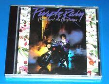 PRINCE, Purple Rain, CD Album, 9 tracks, SEALED, 1984, PRINCE AND THE REVOLUTION