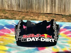 Troy Lee Designs Visor Motocross SE3 Helmet Red Bull Day in the Dirt Go Pro New