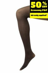 DIESEL Size XS Women's HELLE Black Shiny Tights Made in Italy