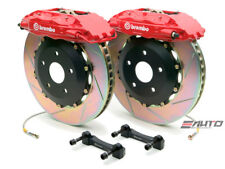 Brembo Front GT Brake BBK 4piston Red 355x32 Slot Rotor Disc Mustang 94-04