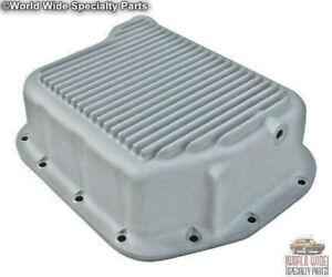 Chrysler, Dodge 48RE Deep Transmission Pan, Extra Capacity, HD - Cast Aluminum