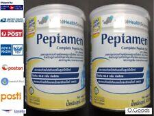 Tube Feeding Food Peptamen Nestle Vanilla Peptide Diet Whey Protein Powder 2 Can
