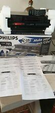 Chargeur 3 DVD  GRAVEUR CD PHILIPS CDR 785  PLAYER  NEUF