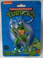 NICKELODEON TEENAGE MUTANT NINJA TURTLES TMNT LEONARDO LIMITED KEYCHAIN FIGURE!