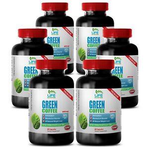 Coffee Bean Green - Green Coffee Extract GCA 800mg - Best Weight Loss Pills 6B