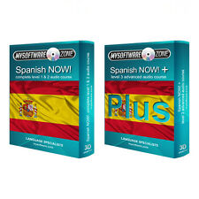 Learn to Speak Spanish Language Fluently Value Pack Course Bundle Level 1, 2 & 3