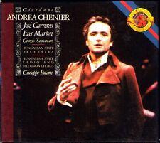 Giordano: Andrea Chenier Jose Carreras Eva Marton Zancanaro PATANE CBS 2cd 1987