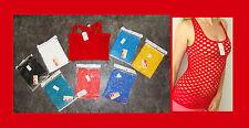 B&X Damen Netz Tank Top Löcher  Mieder Shirt Stretch, r-Top XS, S,M,, Neu Nylon