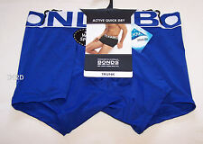 Bonds Mens Blue Sports Active Quick Dry Trunk Brief Size XL New
