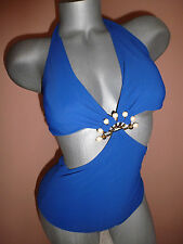 Gottex  One Pice Halter Swimsuit SZ-8 NWT