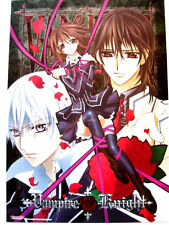NEW Vampire Knight Metallic BIG Poster Kaname Zero Yuki japan official authentic