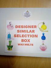 SELECTION BOX. SOY CANDLE WAX MELTS/TARTS. , STRONG SCENT DESIGNER SIMILAR RANGE