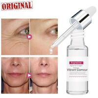 Argireline Collagen Peptides Serum Face Cream Anti-Aging Wrinkle Lift Firming