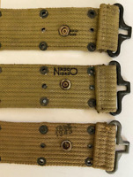 Original WW2 USMC US Army M1936 utility belt Marked and dated 1943
