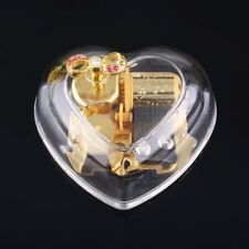 Wind Up Music Box Gorgeous Heart Shape : YOU ARE MY SUNSHINE Lady Gift