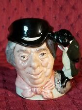 "ROYAL DOULTON ""THE WALRUS AND CARPENTER"" CHARACTER JUG - 2 5/8"" - D6608 -RETIRED"