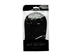 Self Tanning Applicator Mitt Glove Soft Material Fake Tan Easily Washed No Mess.