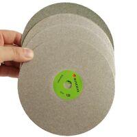 "6"" inch 150 mm Grit 60-3000 Diamond Grinding Disc Abrasive Wheel Coated Flat Lap"