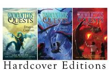 UNWANTED QUESTS Childrens Fantasy Series by Lisa McMann Set of HARDCOVERS 1-3