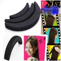 Frisurenhilfe Pony Haarkissen Volum Hair Bun Bumpits Styling Tool 3er Set