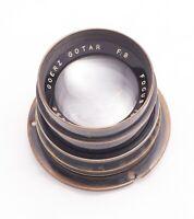 "Very Clean Goerz Gotar 14"" f8 with Flange Pre Artar Process Lens"