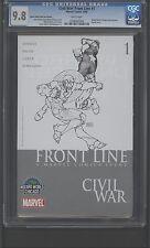 Civil War:Front Line #1 CGC 9.8 Michael Turner