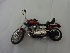 1/18 MAISTO RED SPORTSTER 1200 EVOLUTION HARLEY DAVIDSON DIECAST MOTORCYCLE BIKE