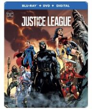 Justice League EXCLUSIVE Blu-Ray/ DVD/ Digital HD SteelBook best buy