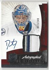 Dustin Tokarski 2010-11 The Cup On Card Autograph Patch Jersey Rookie Auto/249