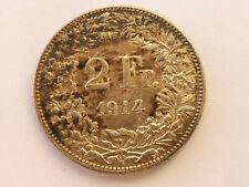 L1991   SCHWEIZ 2,- Franken 1914