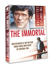 The Immortal Complete Collection 1970s Christopher 15 Episode TV Series DVD Set
