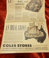 Coles Stores OR Richardson & Wrench, T&G Mutual - 1938 Advertisement