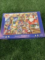 The House Of Puzzles 1000 Piece Jigsaw Puzzle Santas Workshop Christmas Pieces