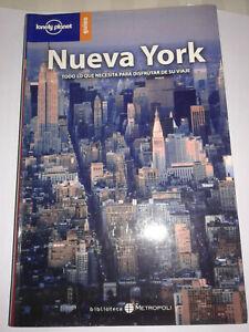 NEW YORK NUEVA YORK EN Español guia de viaje  Lonely Planet 2005