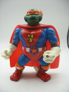 Playmate 1993 TMNT Tortues Ninja Turtles SUPER Mike Sewer Heros MICHAELANGELO