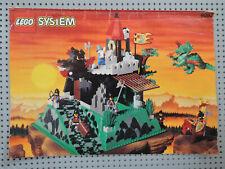 LEGO Castle 6082 Große Ritterburg Fire Breathing Fortress mit  BA  + Figuren