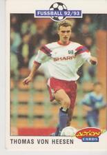 Panini Fussball 92-93 Action Cards #89 Thomas von Heesen Hamburger SV