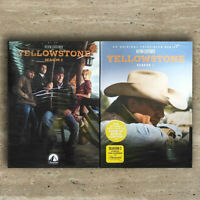 Yellowstone Seasons 1 & 2 (DVD, 2019, Region 1) US Seller Free shipping