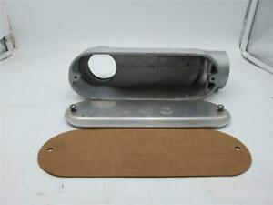 KILLARK SLBM-6 CONDUIT BODY 2 INCH WITH GASKET AND COVER