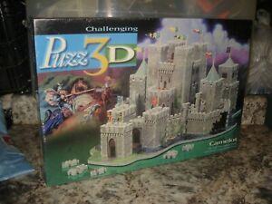 Puzz3D Fully Dimensional Camelot Puzzle Puzz 3D Foam Castle 620 Pieces NEW