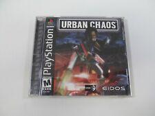 Urban Chaos (Sony PlayStation 1, 2000) PS1 CIB TESTED
