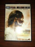 Fear the Walking Dead: Complete Third Season 3 (DVD, 2018, 4-Disc Set)